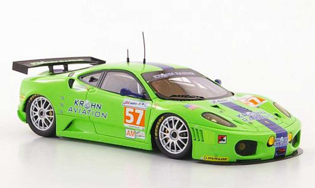 Ferrari F430 GTC 1/43 Fujimi No.57 Krohn Racing T.Krohm / N.Jonsson / M.Rugolo 24h Le Mans 2011 modellautos