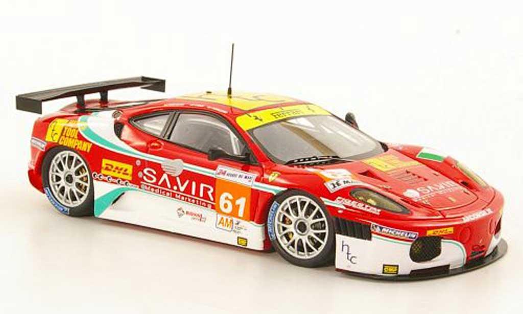 Ferrari F430 GTC 1/43 Fujimi No.61 Team AF Corse 24h Le Mans 2011 miniatura