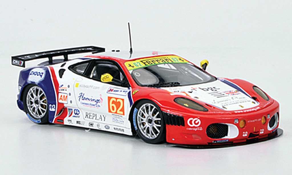 Ferrari F430 GTC 1/43 Fujimi No.62 C Racing 24h Le Mans 2011 miniatura