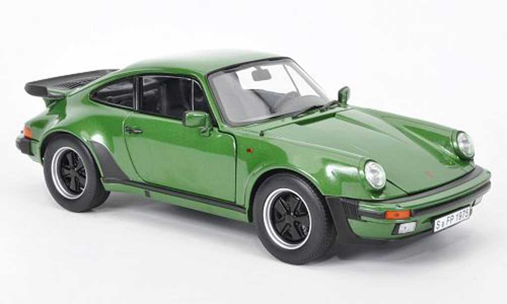 Porsche 930 Turbo 1/18 Norev 33l verte 1975 miniature