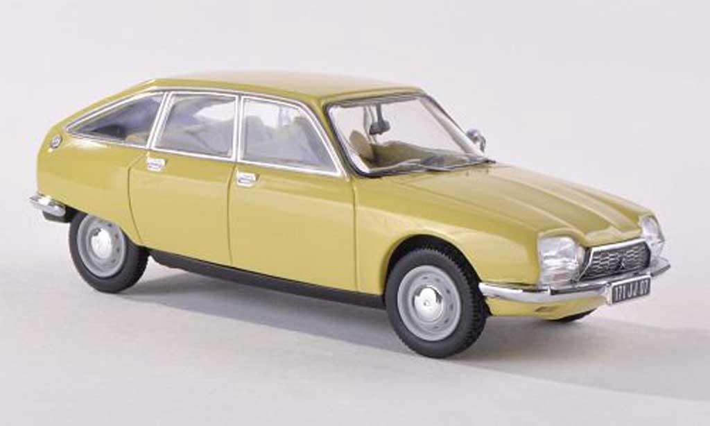 Citroen GS 1/43 Norev jaune  1971 miniature