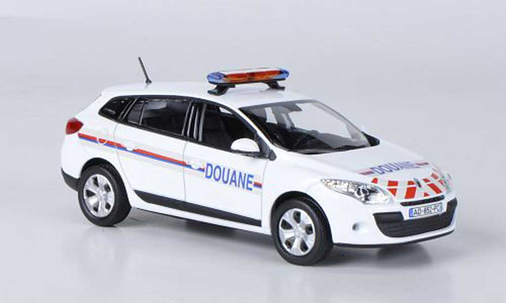 Renault Megane Estate 1/43 Norev Zoll Douane 2009 miniature