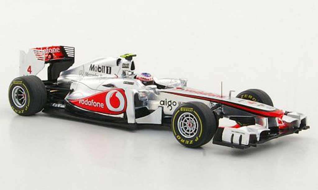 McLaren F1 2011 1/43 Spark MP4-26 No.4 Vodafone J.Button 200. GP-Sieg GP Ungarn miniature