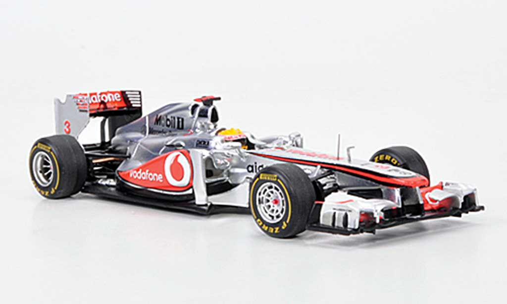 McLaren F1 2011 1/43 Spark MP4-26 No.3 Vodafone L.Hamilton GP Deutschland miniature