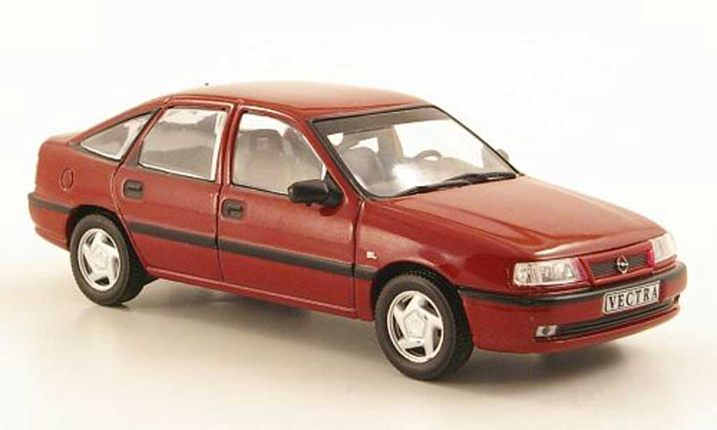 Opel Vectra 1/43 Hachette A GL rouge (ohne Magazin) 1993 miniature