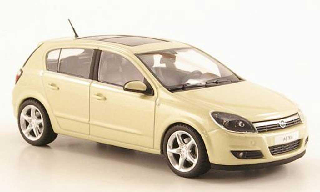 Opel Astra 1/43 Minichamps H beige 5-Turer modellino in miniatura