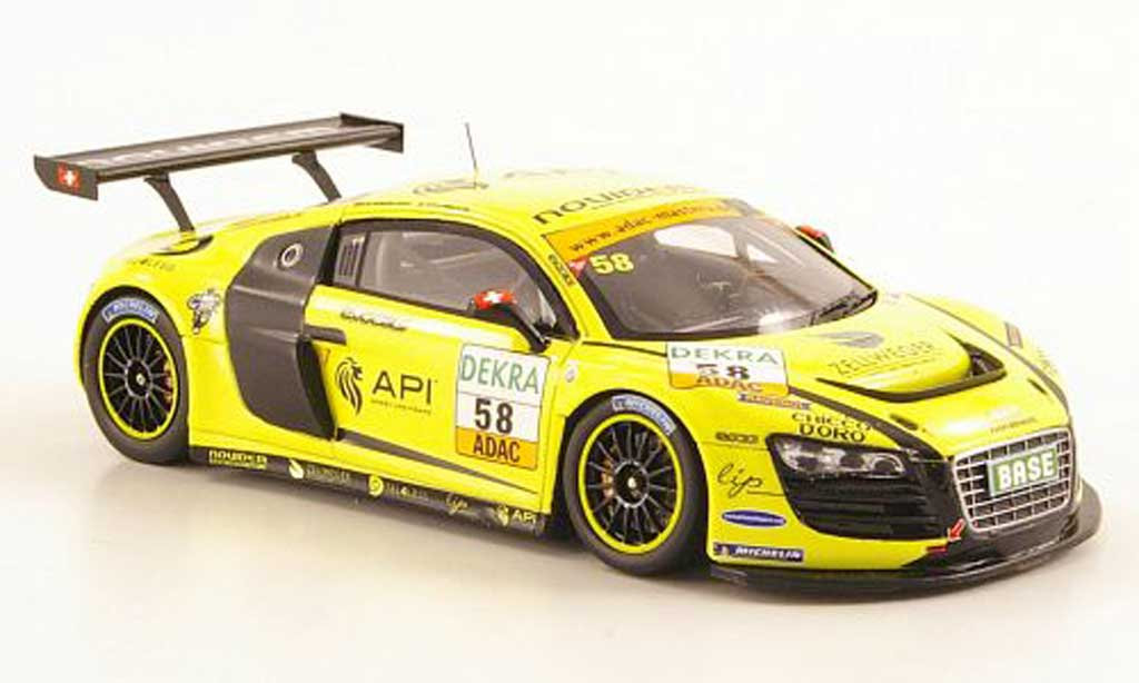 Audi R8 LMS 1/43 Spark No.58 Novidem ADAC Masters2011 modellino in miniatura