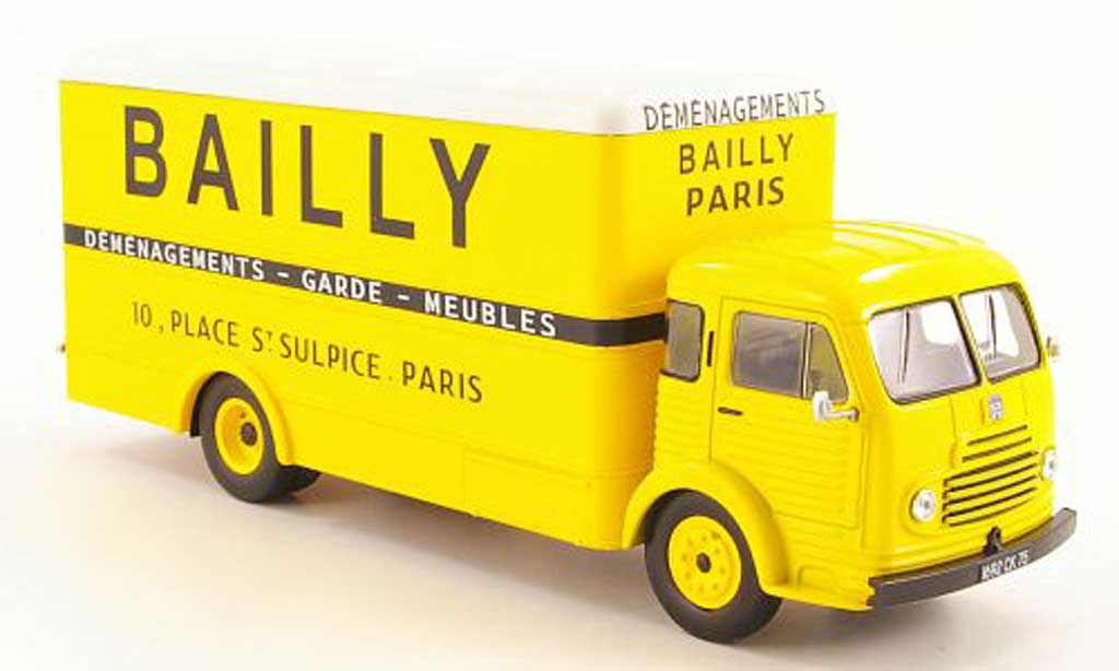 Simca Cargo 1/43 Hachette Bailly Koffer-LKW 1953