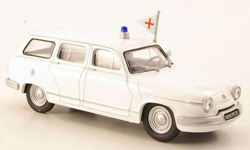Panhard PL 17 1/43 Eligor Break Ambulance Krankenwagen (F) diecast