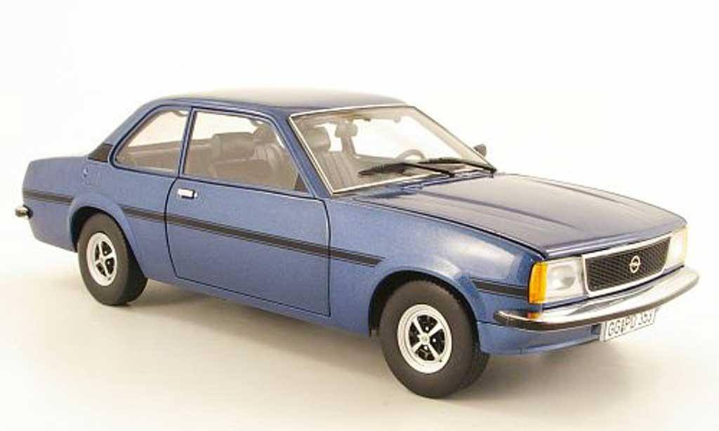 Opel Ascona B 1/18 Sun Star B SR bleu 1975 miniature