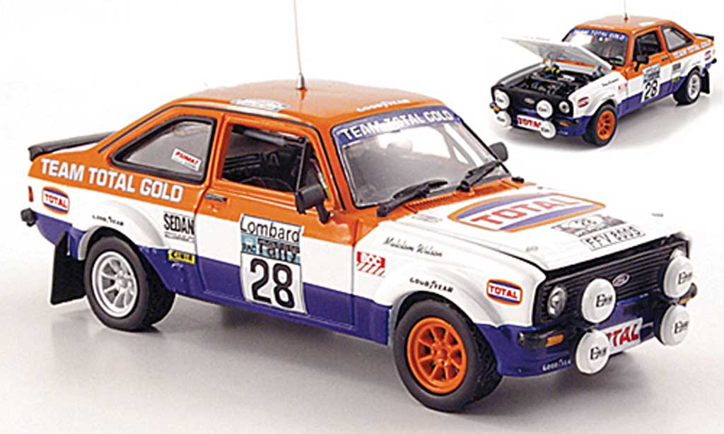 Ford Escort RS 1800 1/43 Vitesse No.28 Total RAC Rally 1979 miniature