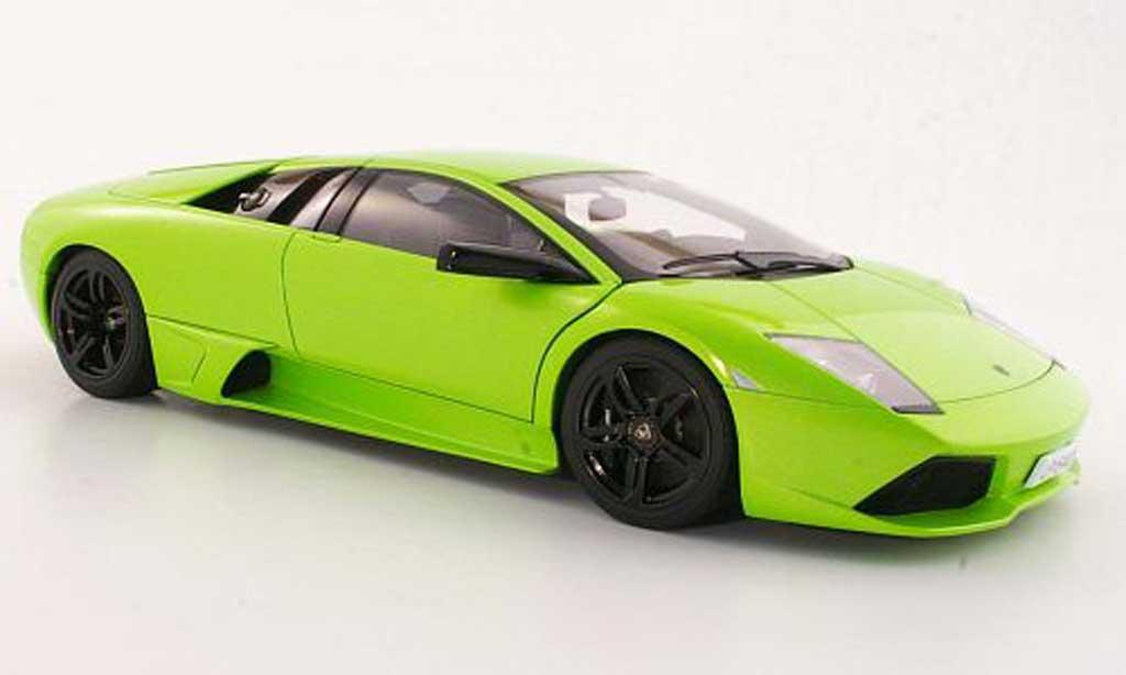 Lamborghini Murcielago LP640 1/18 Autoart green 2006 diecast