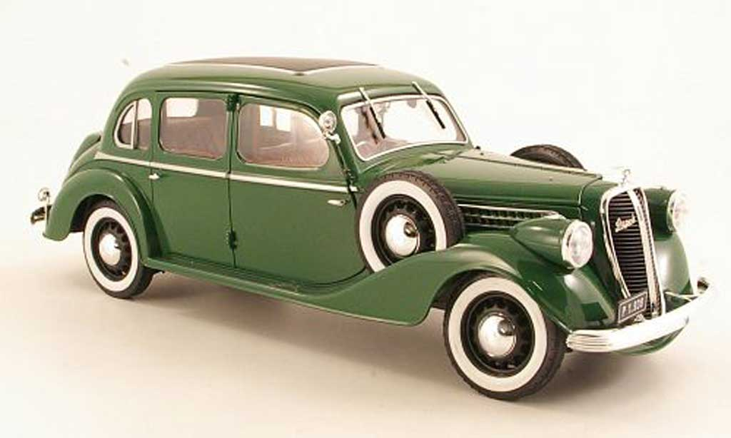 Skoda Superb 1938 1/18 Abrex 913 grun miniature