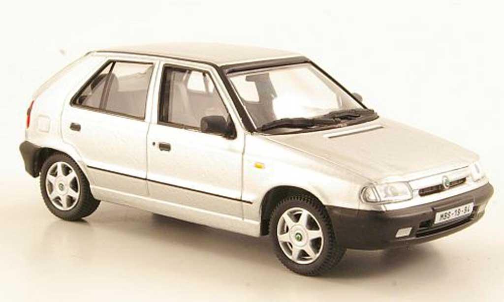 Skoda Felicia 1/43 Abrex grey 1994 diecast model cars