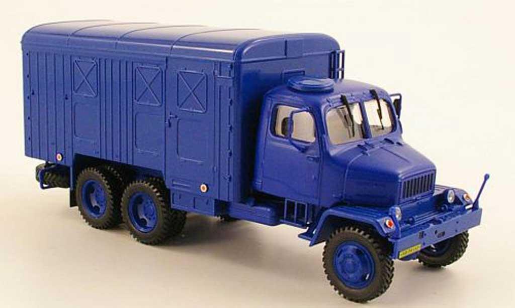 Praga V3S 1/43 Abrex Kasten bleu miniature