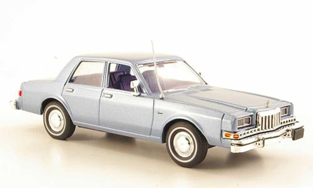 Dodge Diplomat 1/43 First Response bleu 1985 miniature