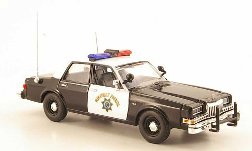 Dodge Diplomat 1/43 First Response California Highway Patrol 1985 diecast