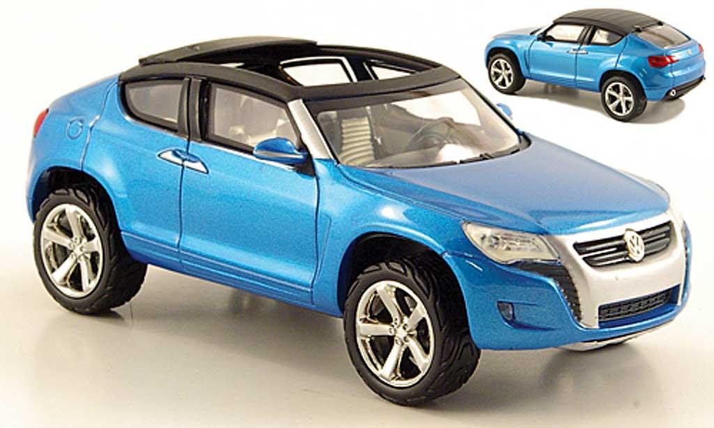 Volkswagen Concept 1/43 Norev A bleu 2005 miniature