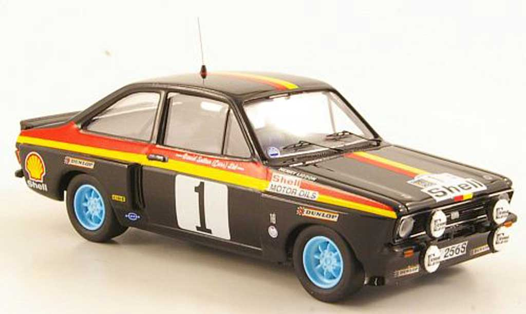 Ford Escort RS 1800 1/43 Trofeu Tarmac No.1 S Rally Madeira 1978 miniature