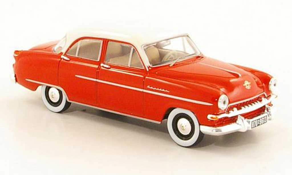 Opel Kapitan 1/43 Starline rouge/blanche 1954 miniature
