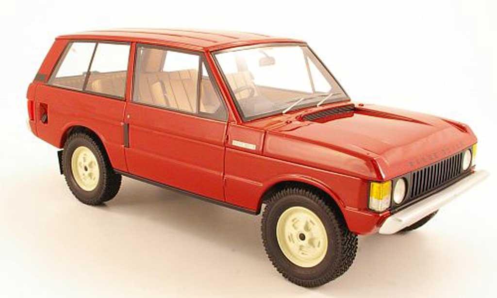 Range Rover Suffix A 1/18 Neo A rouge RHD 1970 miniature
