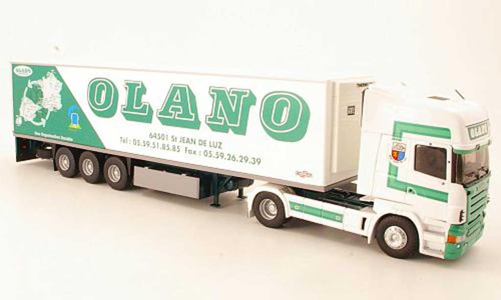 Scania Serie R 1/43 Eligor Topline Olano Kuhlkoffer-SZ miniature