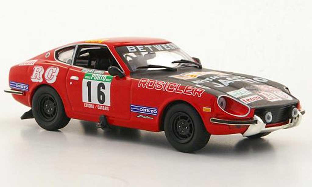 Datsun 240Z 1/43 IXO No.16 P.Cortez / T.Gomes Rally Portugal 1975 miniature