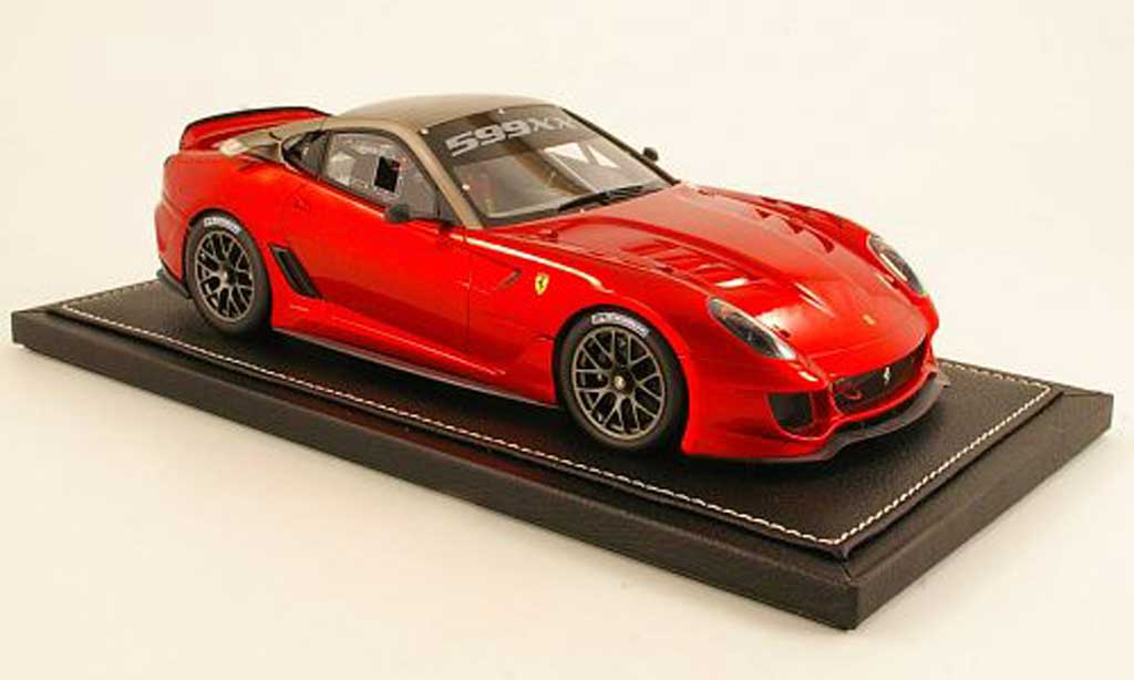 Ferrari 599 XX 1/18 BBR Models red/grey 2009 diecast model cars