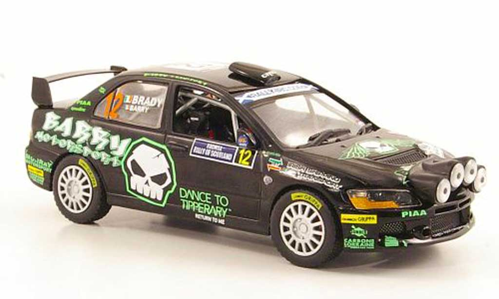 Mitsubishi Lancer Evolution IX 1/43 Vitesse No.12 Rally Schottland 2010 miniature