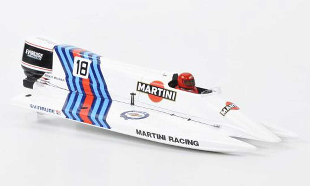 Renault F1 1984 1/43 Spark Martini Racing Powerboot Renato Molinari miniature