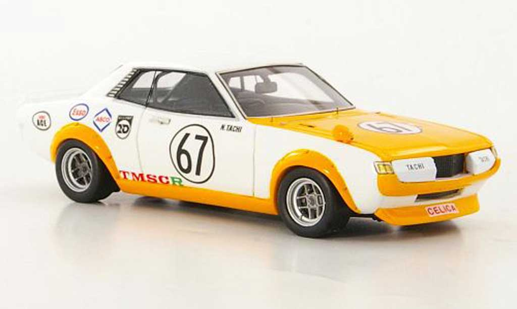 Toyota Celica 1972 1/43 Reve Collection 1600GT No.67 N.Tachi GP Japan modellautos