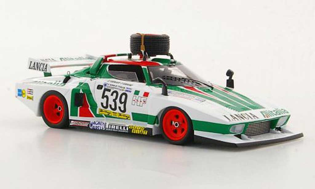 Lancia Stratos Rallye 1/43 Reve Collection Turbo GR.5 No.539 Alitalia Giro d'Italia 1977 miniature