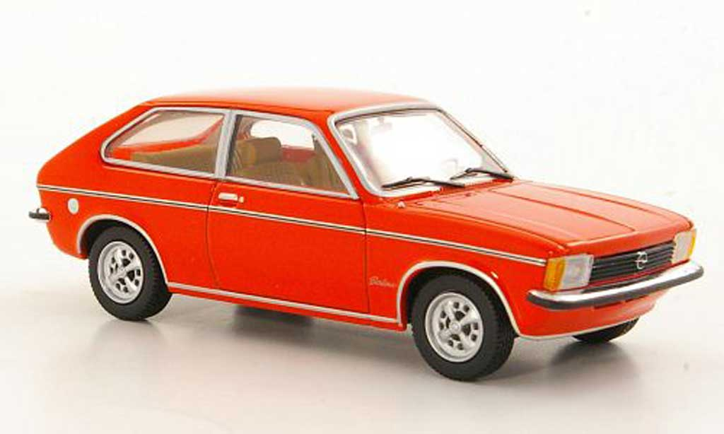 Opel Kadett C 1/43 Minichamps City rouge 1978 miniature