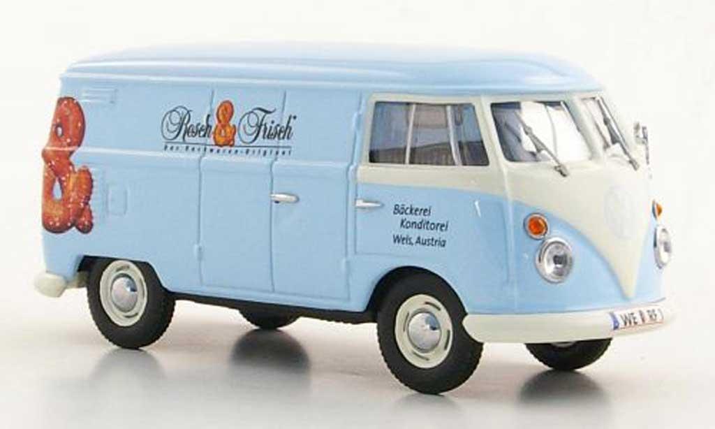 Volkswagen T1 1/43 Minichamps Kasten Resch & Frisch 1963 modellautos