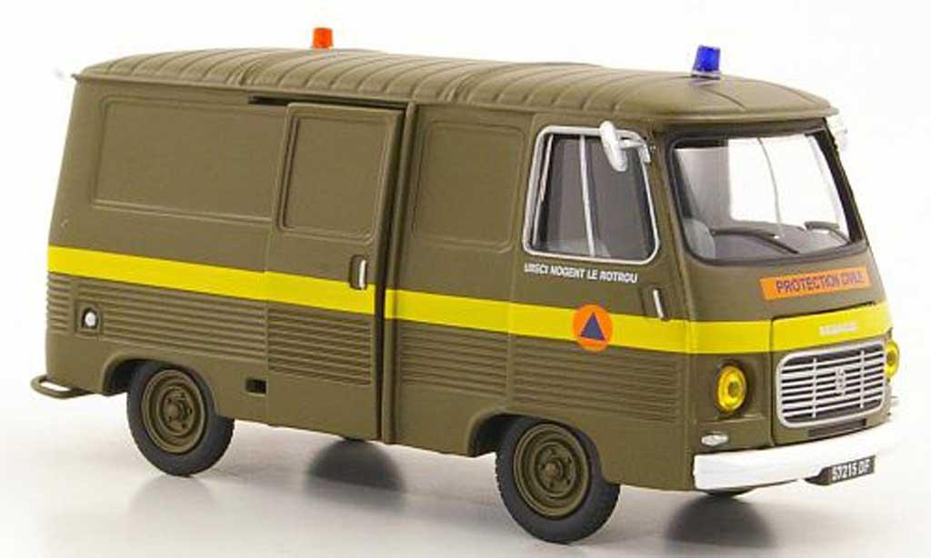 Peugeot J7 1/43 Eligor Protection Civile - UIISC1 Nogent le rotrou modellautos