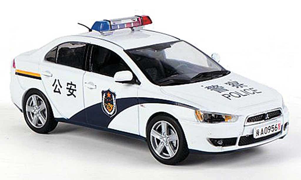 Mitsubishi Lancer 1/43 Vitesse Ex China Police (GongAn) 2009 miniature