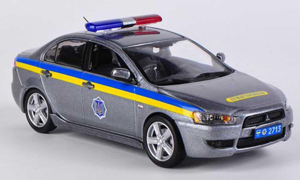 Mitsubishi Lancer 1/43 Vitesse Ukraine Police 2009 miniature