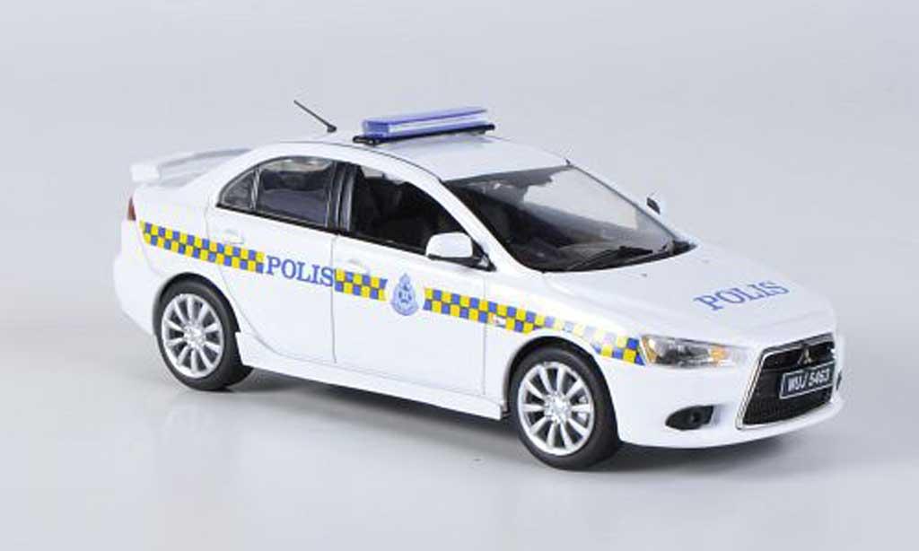 Mitsubishi Lancer 1/43 Vitesse Malaysia Police 2009 miniature
