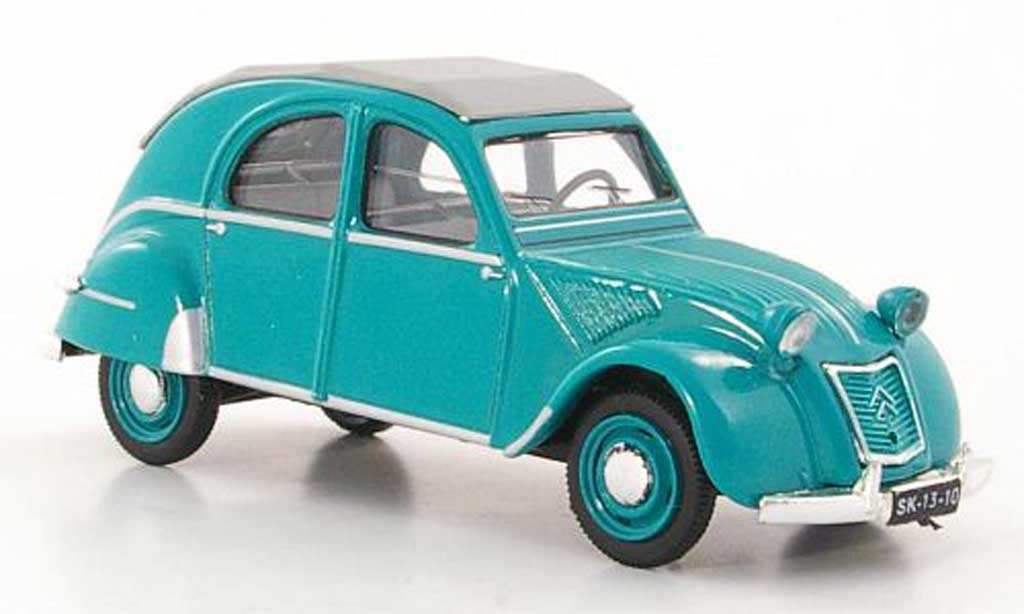 Citroen 2CV 1/43 Vitesse Belgium verte 1956 miniature