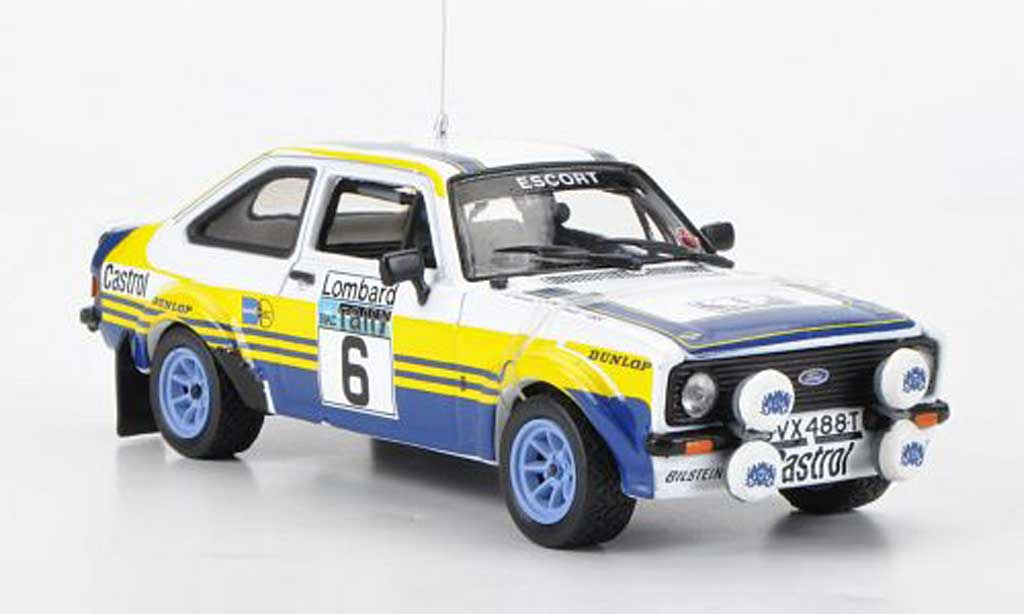 Ford Escort RS 1800 1/43 Vitesse No.6 redhmans A.Vatanen/D.Richards RAC Rally 1979 diecast