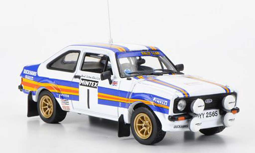 Ford Escort RS 1800 1/43 Vitesse No.1rougehmans Mintex International Rally 1981 miniature