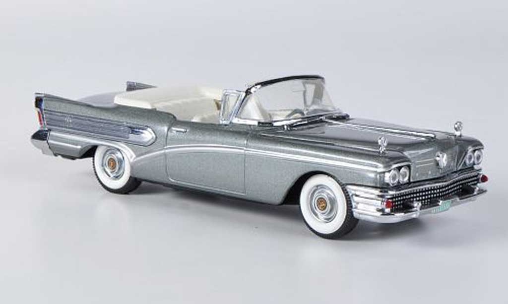 Buick Special 1/43 Vitesse Convertible grise 1958 miniature