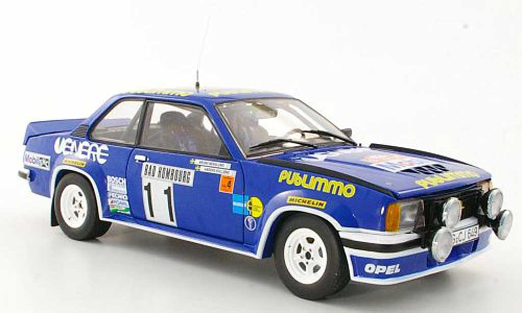 Opel Ascona B 1/18 Sun Star 400 No.11 Publimmo A.Kullang / B.Berglund Rally Monte Carlo 1981 miniature