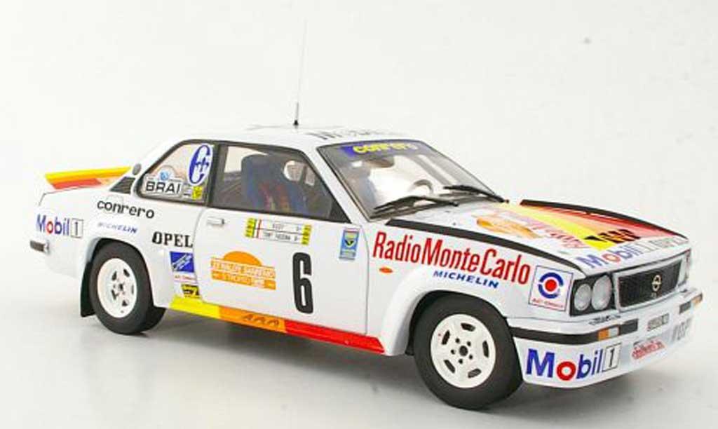Opel Ascona B 1/18 Sun Star 400 No.6 Conrero A.Fassina / R.Dalpozzo Rally San Remo 1981 miniature