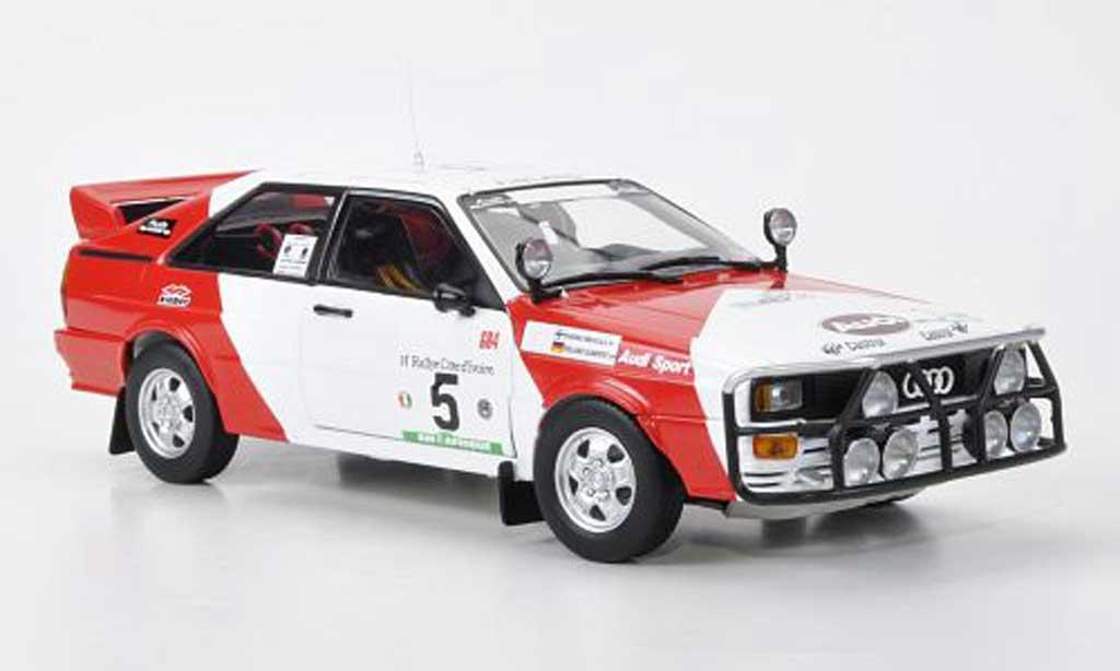 Audi Quattro 1/18 Sun Star No.2 Marlboro H.Mikkola/RGumpert Rally Elfenbeinkuste 1982 miniature