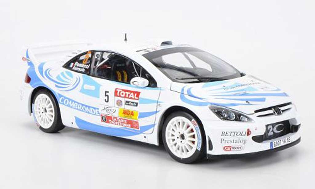 Peugeot 307 WRC 1/18 Sun Star No.5 Combronde S.Sarrazin/J.Renucci Rally du Var 2011 diecast