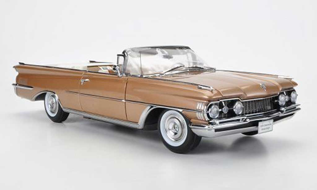 Oldsmobile 98 1/18 Sun Star Convertible bronze offen 1959 miniature