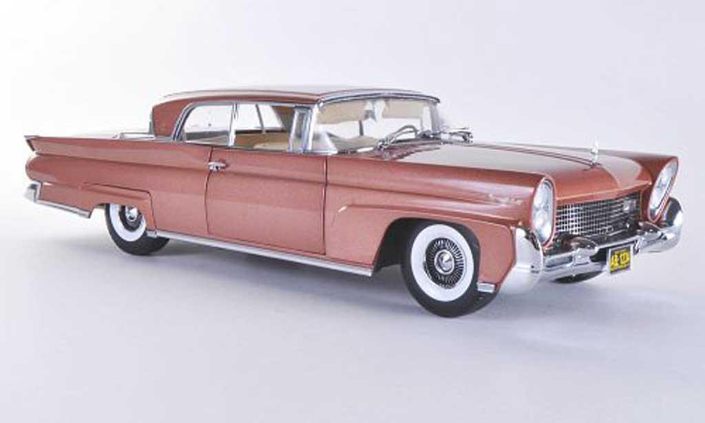 Lincoln Continental 1958 1/18 Sun Star Mark III Hardtop marron miniature