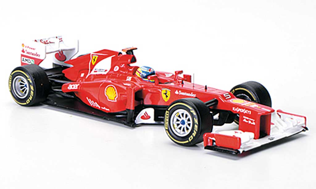 Ferrari F1 F2012 1/43 Hot Wheels No.5 F.Alonso Saison 2012 modellino in miniatura