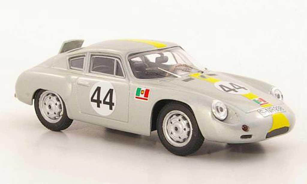 Porsche Abarth 1/43 Best No.44 A.Pucci / E.Barth Targa Florio 1962 miniatura